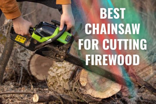 Best Chainsaw for Cutting Firewood 2020 [NEW Buyer's Guide]