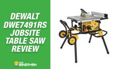 Dewalt DWE7491RS Review – Portable Jobsite Table Saw