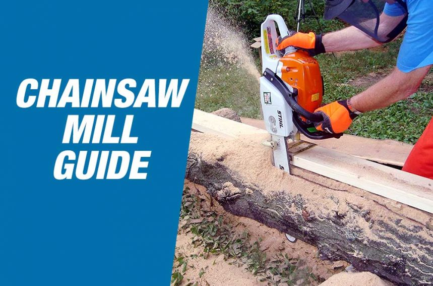 Chainsaw mill guide