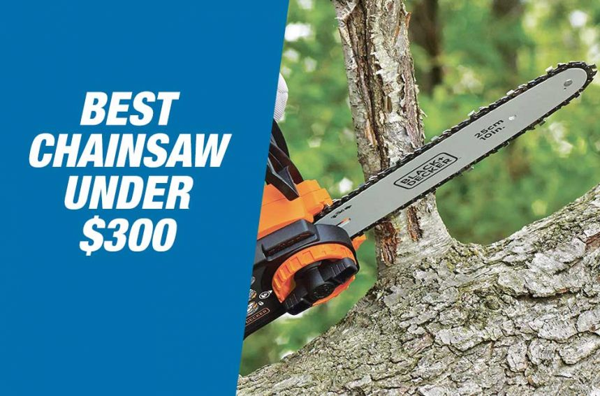 Best Chainsaws Under $300 in 2020 – Reviews & Buyer's Guide