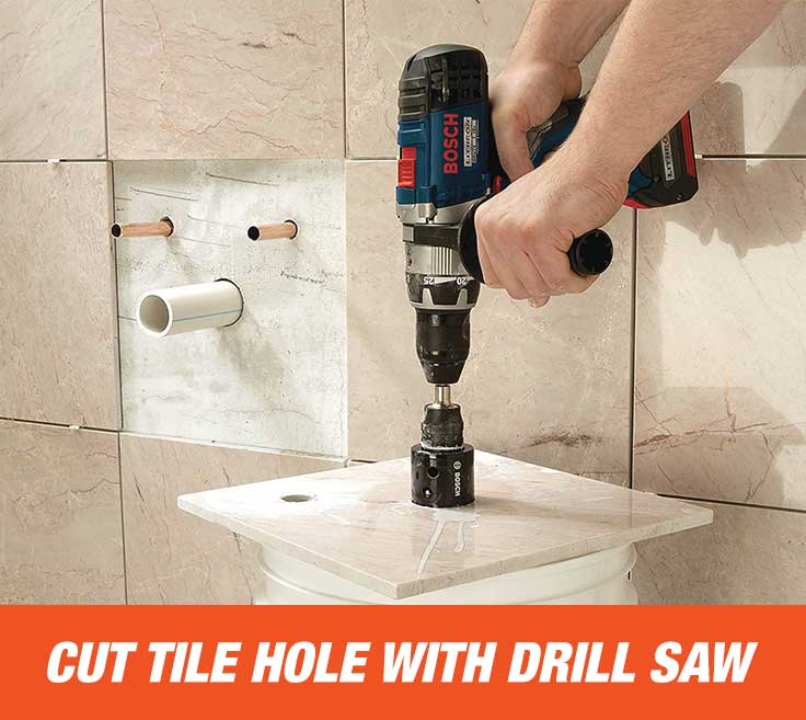 How To Cut Tile Holes